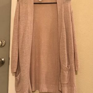 Chico's Pink Cardigan Size 1